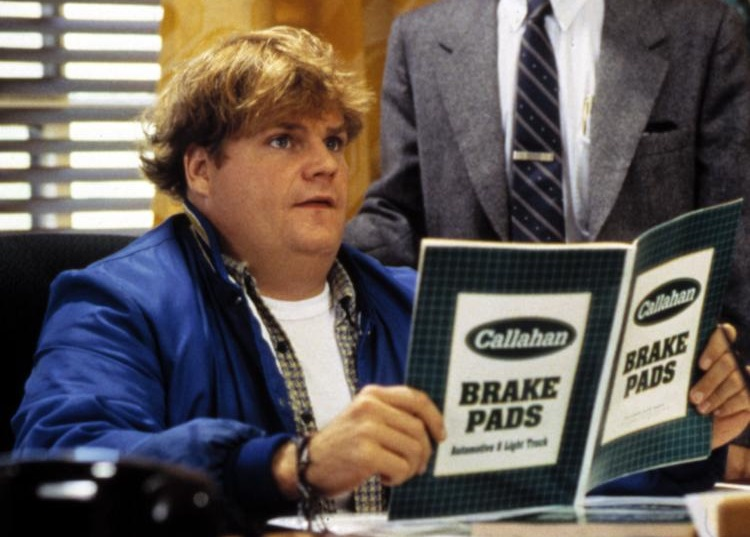 Brake Pads in Tommy Boy movie